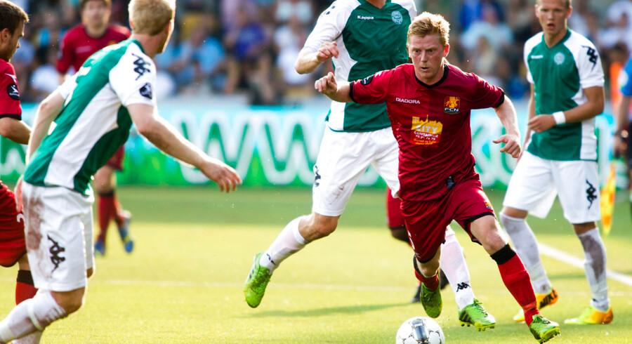 Anders Christensen var centrum på FC Nordsjælland holdet, men må sande, at der skal mere til i Støvlelandet.