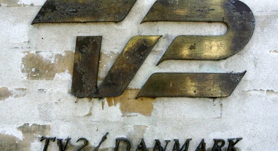 Arkiv, TV2 \s logo. /Ritzau 20.04.2011 13:52 / EU-Kommissionen har givet grønt lys til, at TV2 kan opkræve brugerbetaling fra den 1. januar 2012 som led i stationens redningsplan. - TV2 vil opkræve et beløb på 10-12 kroner pr. måned. Dertil kommer moms og eventuelt distributøravance, fortæller TV2 ´s direktør, Merete Eldrup, til Ritzau. (Foto: Jens Nørgaard Larsen/Scanpix 2011)
