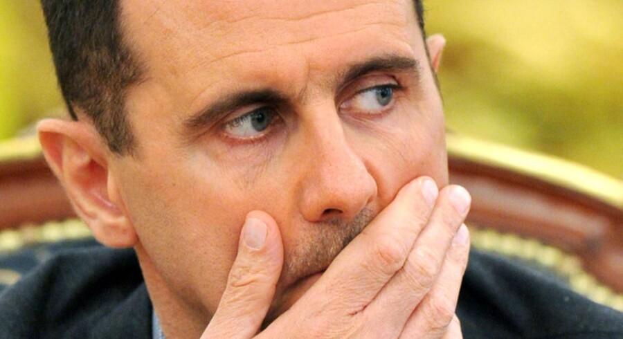 Arkivfoto. Syriens Bashar al-Assad den 3 december 2010.