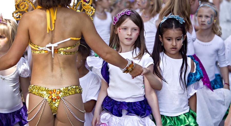 Copenhagen Carnival er kendt for de store karnevalsparader gennem byen til latin - og sydamerikanske rytmer.