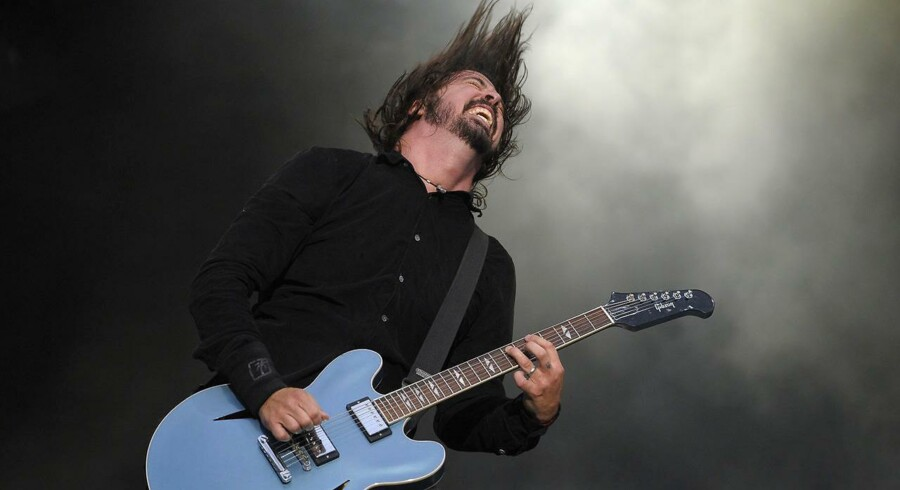 Forsanger for Foo Fighters, Dave Grohl. Arkivfoto: Paul Bergen