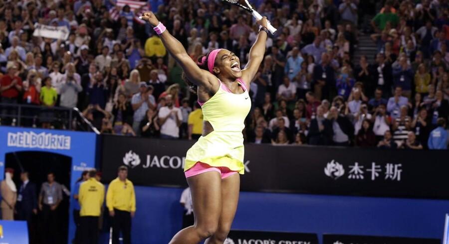 Serena Williams vandt lørdag sin sjette Australian Open-sejr.