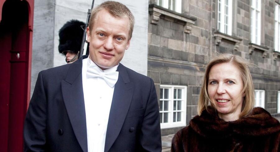 Andreas Bøgsted-Møller, dommer ved retten på Bornholm, og Julie Skat Rørdam, dommer ved retten i Glostrup, takkede begge for udnævnelse.