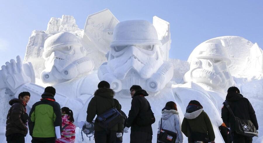 Den årlige snefestival i Sapporo er i gang.Se billederne af de skøre, smukke og hvide skulpturer her.