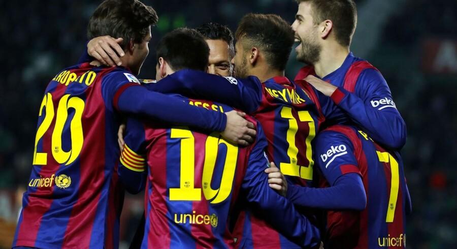 Barcelona vandt sikkert over Elche.