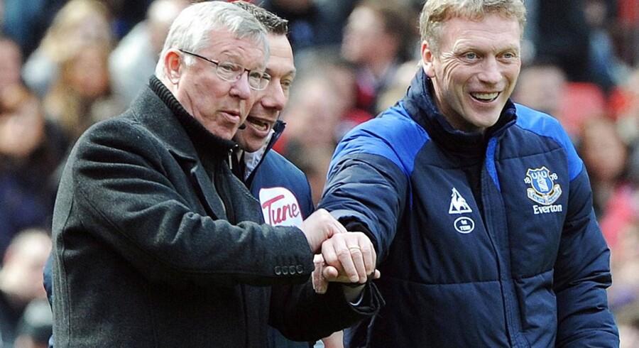 Alex Ferguson og David Moyes kan grine hele vejen ned til banken.