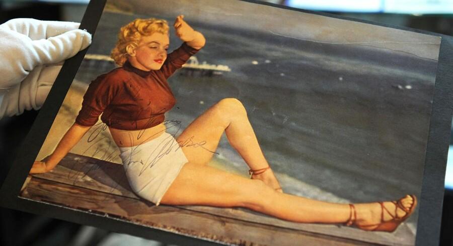 Hidtil ukendte billeder af Marilyn Monroe er dukket op.