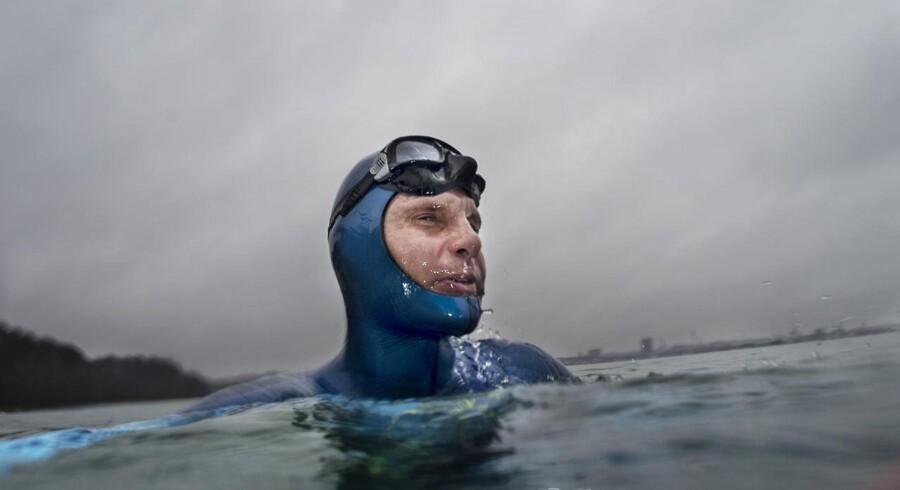 Den danske firedobbelte verdensmester og rekordholder i fridykning, Stig Åvall Severinsen. Til BM