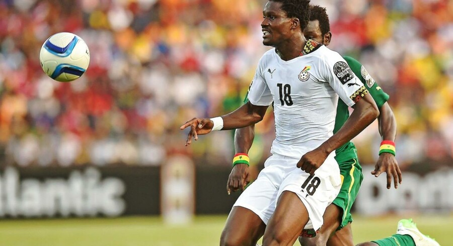 FCKs Daniel Amartey fik fuld spilletid for anden kamp i træk ved Africa Cup of Nations.