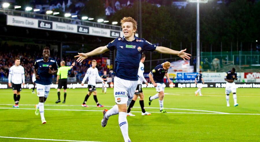 Martin Ødegaard har sandsynligvis spillet sin sidste kamp for Strømgodset.