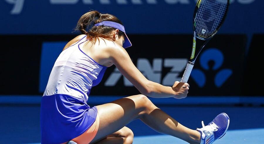 Ana Ivanovic er ude af Australian Open allerede efter første runde.