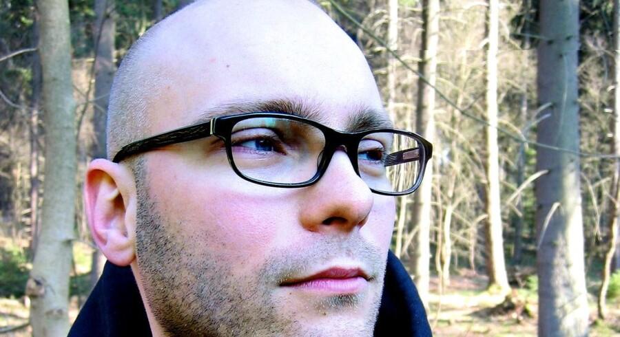 Lars Christian Hvidberg, Journalist og forfatter. Arkivfoto.