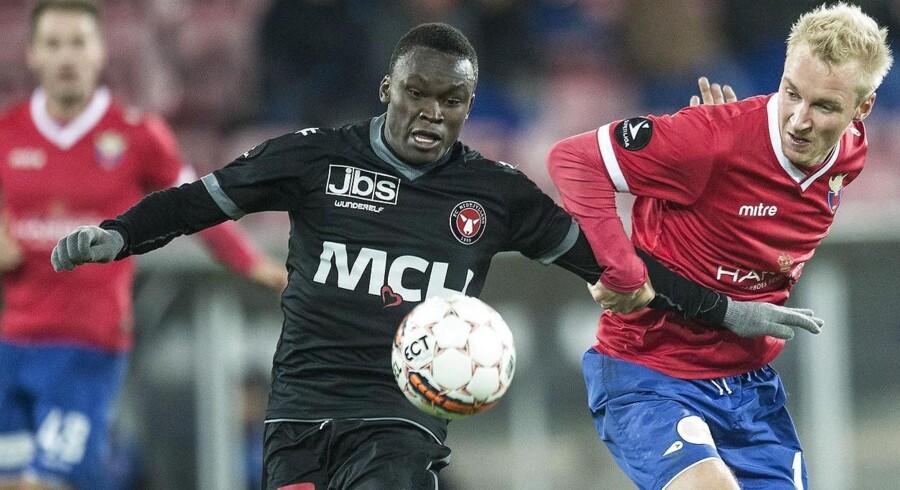 Pione Sisto fik den perfekte debut i den danske landsholdstrøje.