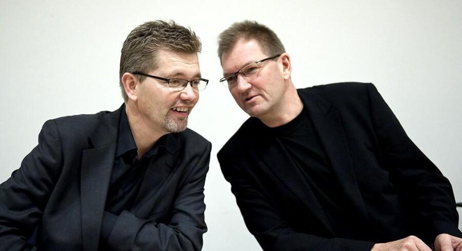 Bo Asmus Kjeldgaard (SF) sammen med overborgmester Frank Jensen (S) dagen efter kommunalvalget i 2009.