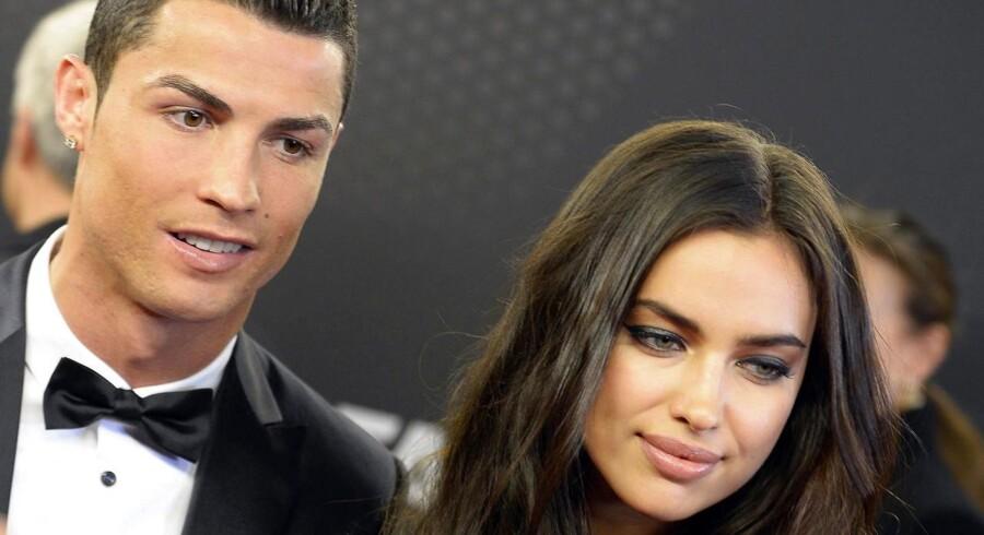 Cristiano Ronaldo og den russiske topmodel danner ikke længere par.