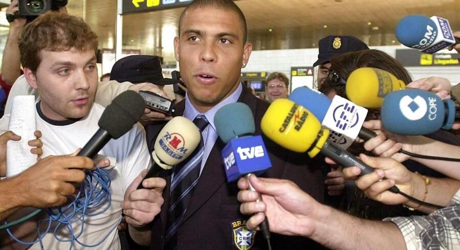 Brasilianeren Ronaldo vil forsøge at komme i form igen.