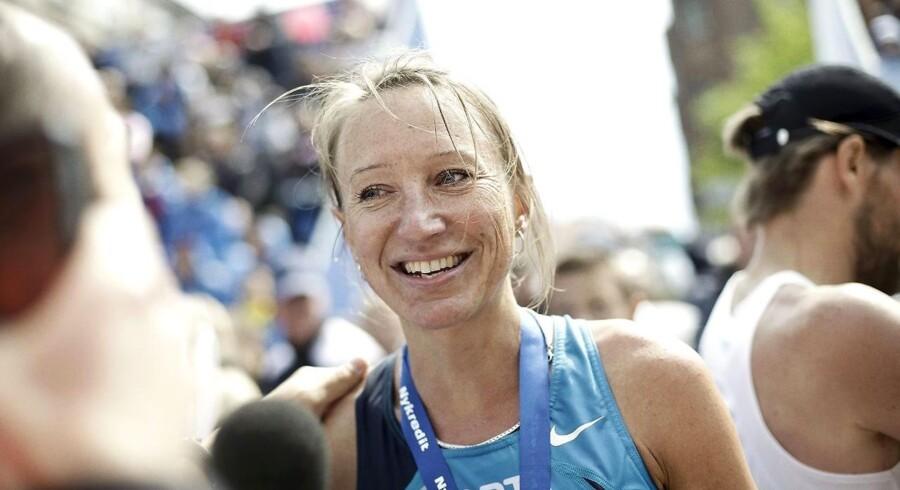 Anne-Sofie Pade Hansen blev hurtigste kvinde ved søndagens Copenhagen Marathon.