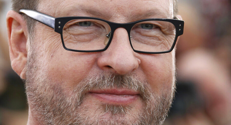 """Danish director Lars Von Trier poses during the photocall of """"Melancholia"""" presented in competition at the 64th Cannes Film Festival on May 18, 2011 in Cannes. AFP PHOTO / FRANCOIS GUILLOT"""