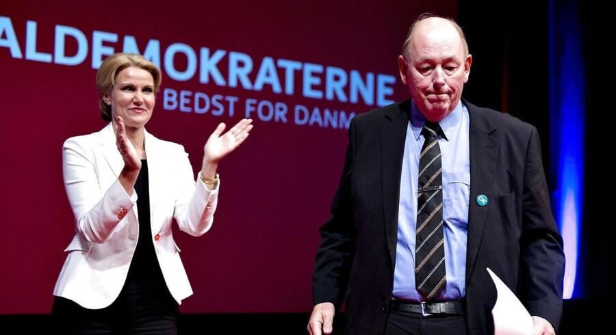 LO-formand Harald Børsting taler til Socialdemokraterne 3-dages kongres i Aalborg Kongres og Kulturcenter.