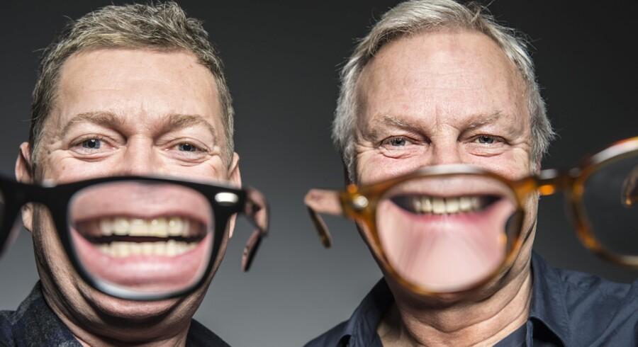 Peter Frödin og Jarl Friis Mikkelsen.
