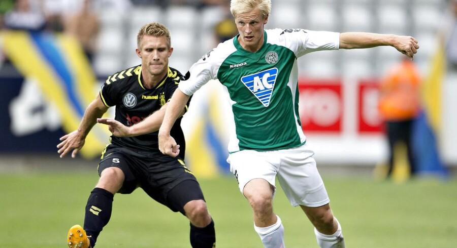 Thomas Dalgaard skiftede i sommer til Heerenveen, men er ikke startet inde en eneste gang i efteråret.