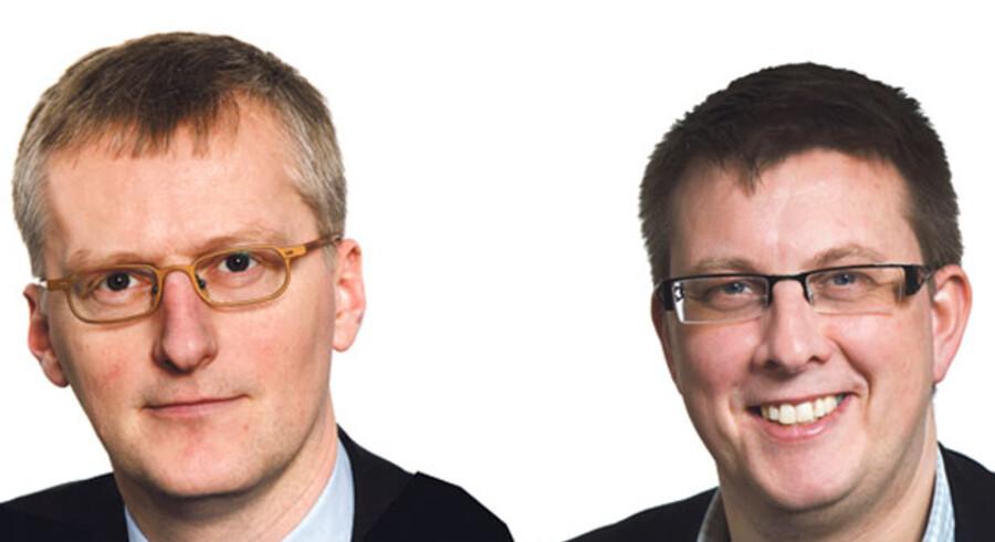 Laurits Rønn, direktør og Bo Sandberg, skattepolitisk chef, Dansk Erhverv