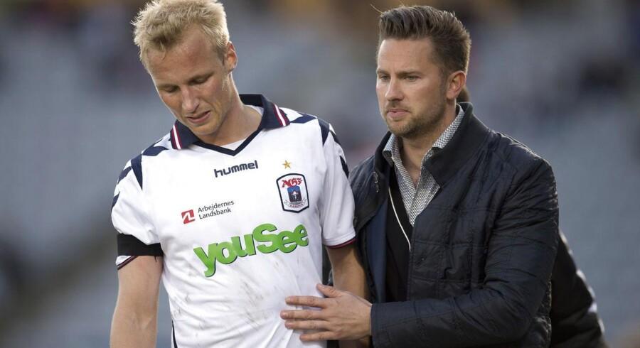 Jesper Fredberg stopper i AGF som talentchef.