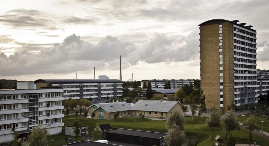 Arkivfoto. Vollsmose i Odense er et af de steder, hvor etniske danskere er på vej til at blive minoriteter.
