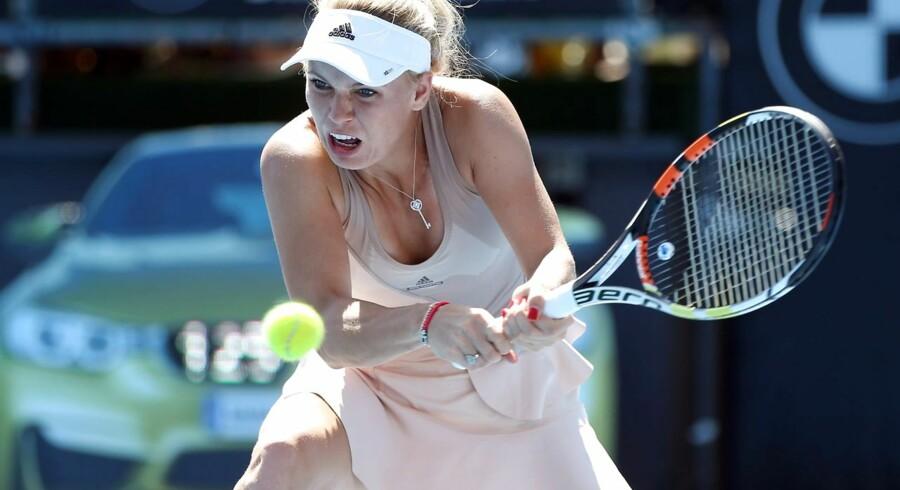 Caroline Wozniacki.