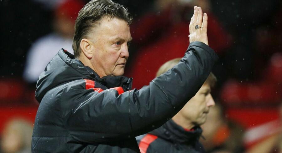 Louis van Gaal mente, at hans hold allerede i anden halvleg begyndte at se frem mod den næste kamp mod Tottenham.