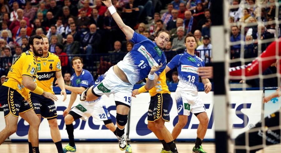 HSV Handball viste fine takter mod mesterskabskandidaterne fra Rhein-Neckar Löwen men kom alligevel til kort til sidst.