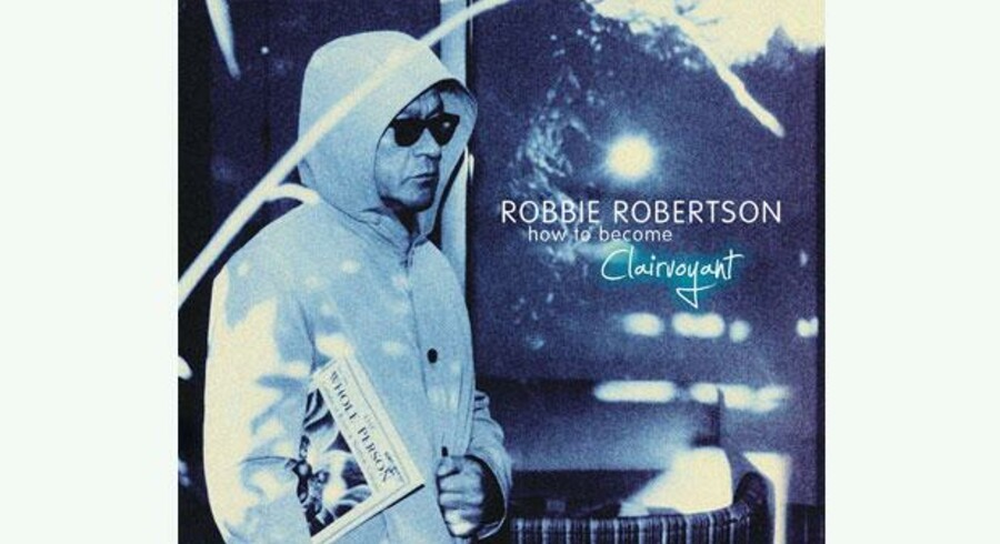 Robbie Robertson. CD-cover.