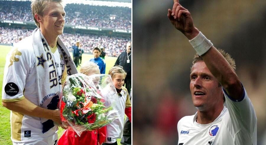 Jesper Grønkjær og Peter Møller er ifølge bookmakeren Bet25 favoritter til jobbet som TV3s nye Champions League-studievært.