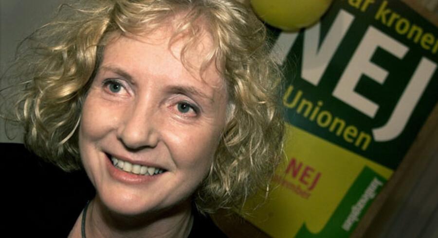 Drude Dahlerup var med til at stifte Junibevægelse - og som bestyrelsesmedlem for Enkefru Plums Støttefond med til at støtte bevægelsen trods forbud mod partistøtte.