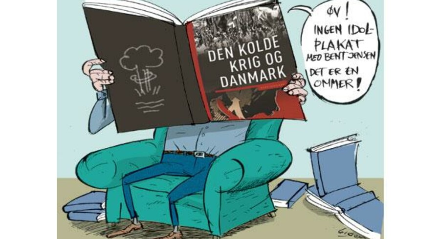 John T. Lauridsen, Rasmus Mariager, Thorsten Borring Olesen og Poul Villaume, redaktører for »Den Kolde Krig og Danmark«