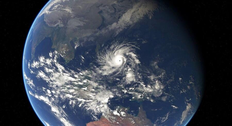 Arkivfoto. Jorden som set fra sattelit d. 5 december 2014