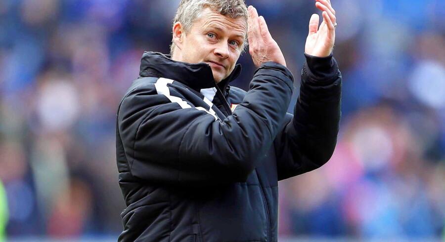 Ole Gunnar Solskjær storroser Manchester Uniteds målmand David de Gea.