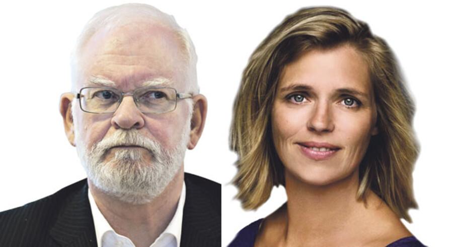 Lars Hedegaard og Katrine Winkel Holm, formand og næstformand i Trykkefrihedsselskabet