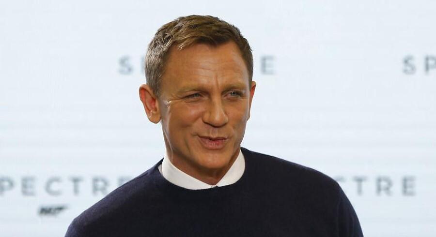 Det ligger fast, at Daniel Craig er tilbage som Ian Flemings elegante britiske agent James Bond.
