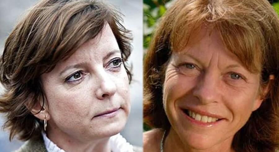 Karen Ellemann lægger ikke fingre imellem sin kritik af Danmarks Naturfredningsforening. Præsident for DN, Ella Maria Bisschop-Larsen tager roligt imod kritikken.