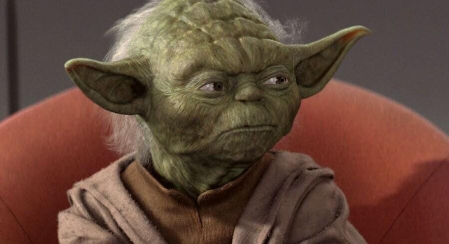 Hr. Yoda. Arkivfoto: Lucasfilm
