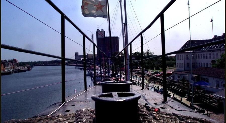 Siden 1997 har den sovjetiske u-båd, U-359, været turistattraktion i Nakskov Havn. Det eventyr slutter fredag. Arkivfoto: Simon Knudsen, Scanpix