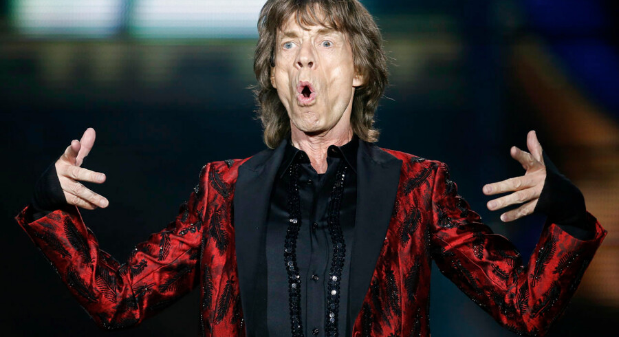 """Mick Jagger of The Rolling Stones performs during their """"14 on Fire"""" concert at Santiago Bernabeu Stadium in Madrid in this June 25, 2014 file photo. REUTERS/Juan Medina/Files (SPAIN - Tags: TPX IMAGES OF THE DAY ENTERTAINMENT)"""