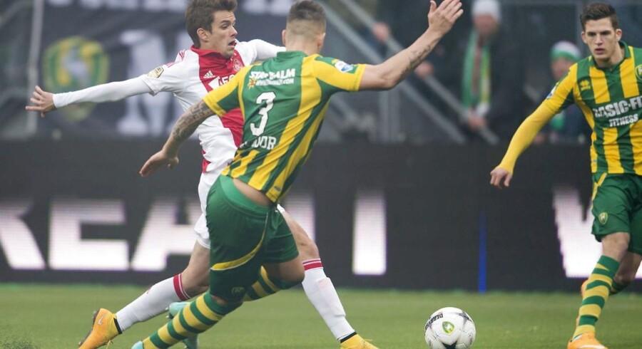 Lucas Andersen gjorde en fin figur, og han forlod da også banen, da Ajax stadig var foran.