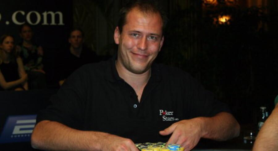 Berlingske TIdendes pokermester, Martin Wendt. Foto: Karina May