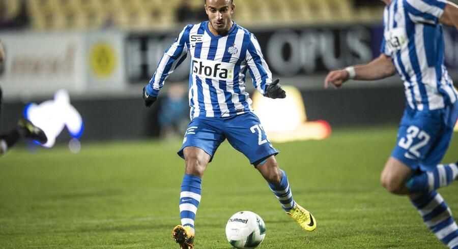 Mohammed Fellah blev skurken, da han blev udvist og dermed gjorde det sværere for sine holdkammerater.