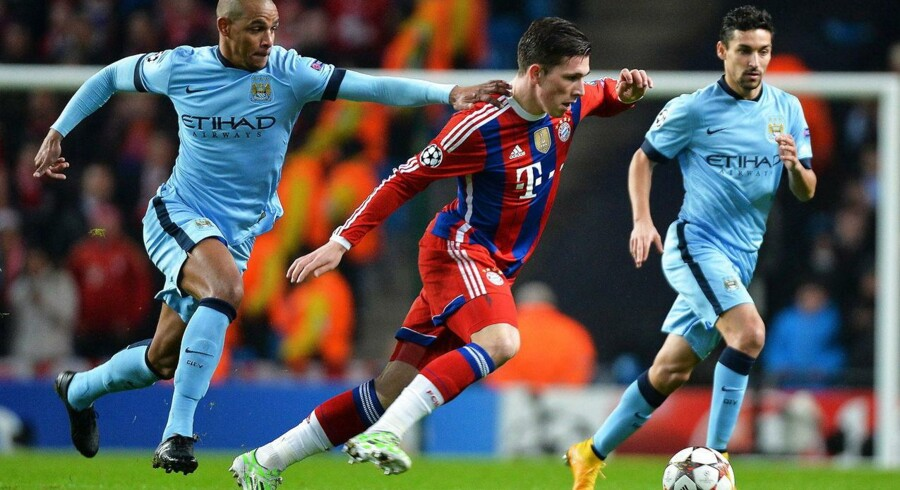 Pierre-Emile Højbjerg kom i ilden mod Manchester City i midtugen, hvor det blev til nederlag 3-2