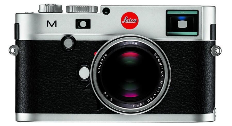 Leica M silver fra 2012.