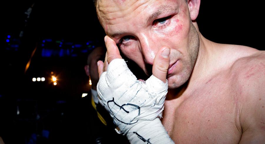 Mikkel Kessler bliver næppe forgyldt af en kamp mod Lucian Bute. (arkivfoto)