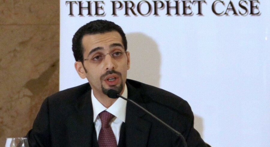 Den saudiske advokat Yamani truede sidste år med at trække 15 danske dagblade i retten i London, fordi de havde genoptrykt Muhammed-tegningen i sympati med Jyllands-Posten.